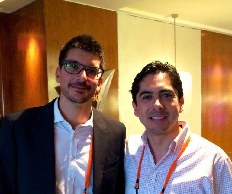 Carlos Requena | Abogado Penalista | con Alexander Osterwalder