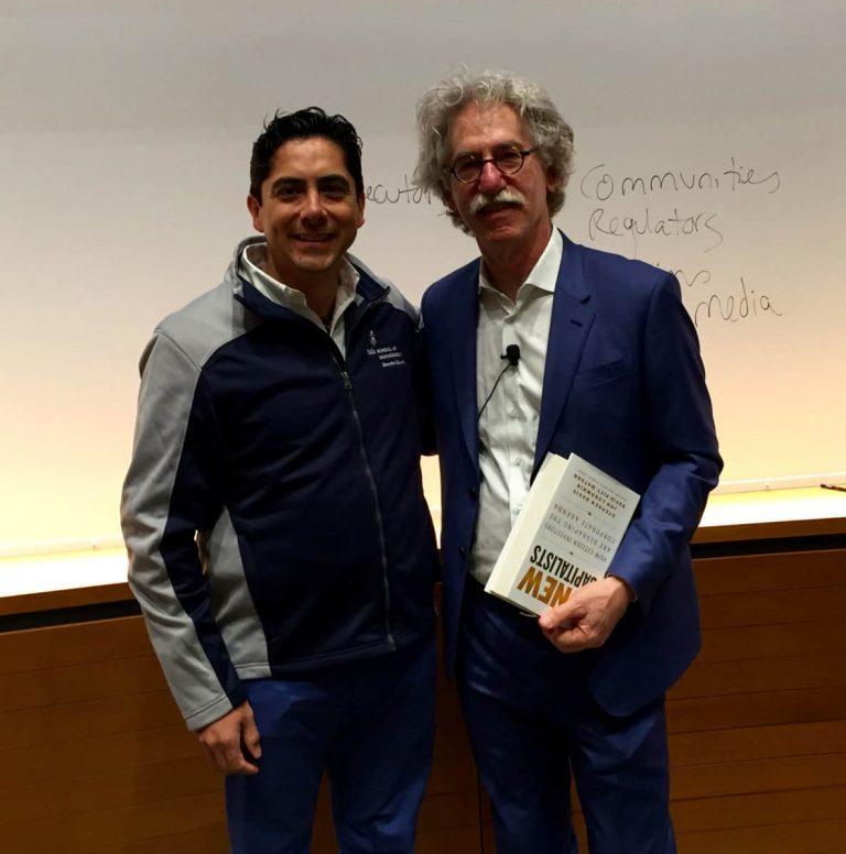 Carlos Requena | Abogado Penalista | con Stephen Davis