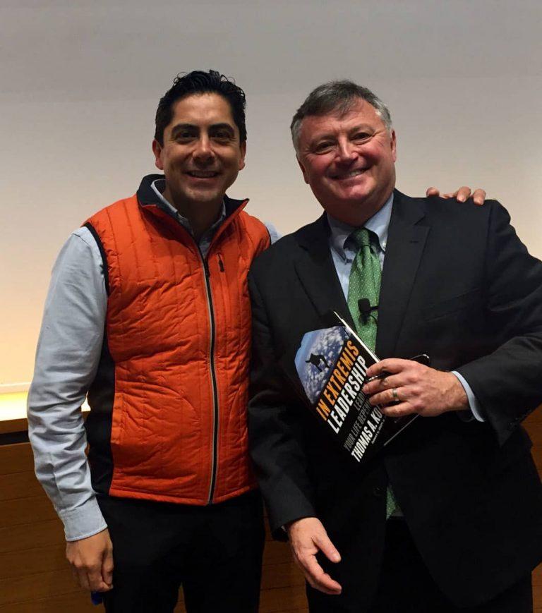 Carlos Requena | Abogado Penalista | con Thomas A. Kolditz