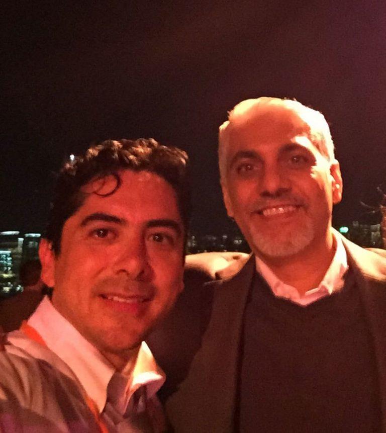 Carlos Requena | Abogado Penalista | con Vijay K. Tirathrai