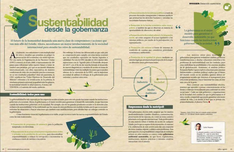 Carlos Requena | Abogado Penalista | Sustentabilidad desde la gobernanza