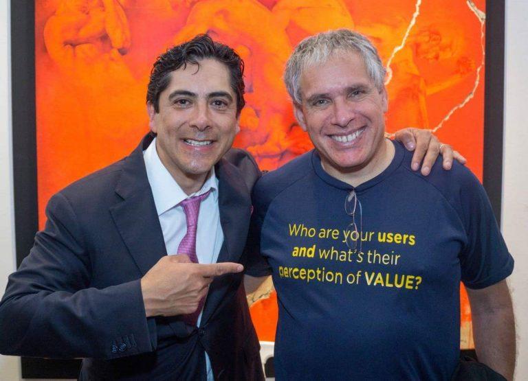 Carlos Requena | Abogado Penalista con Uri Levine creador de Waze