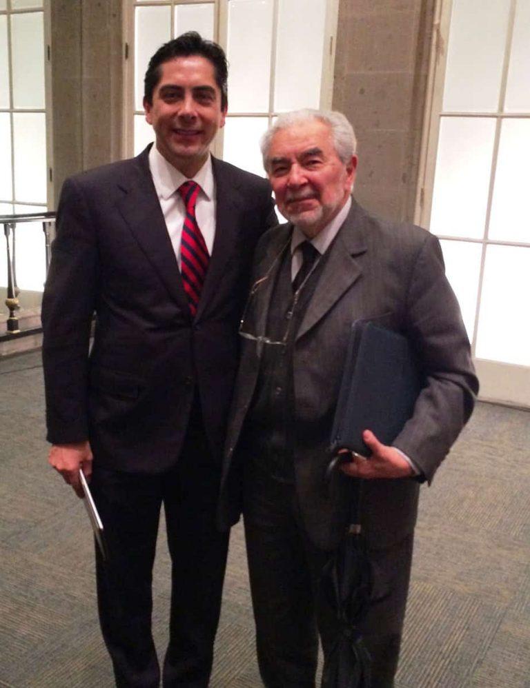 Carlos Requena | Abogado Penalista | con Dr. Sergio García Ramírez