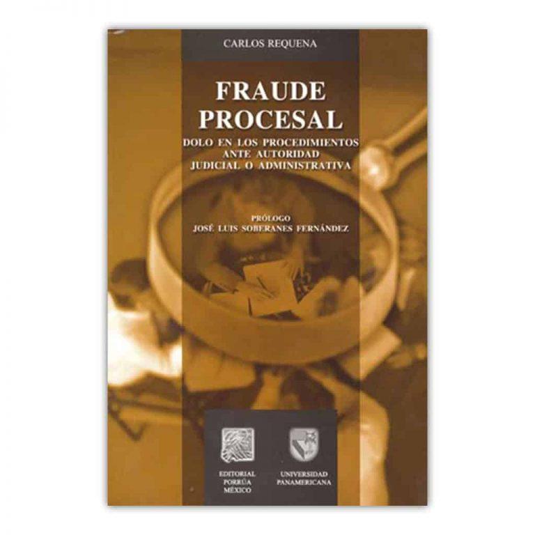 Carlos Requena | Abogado Penalista | Libro Fraude Procesal