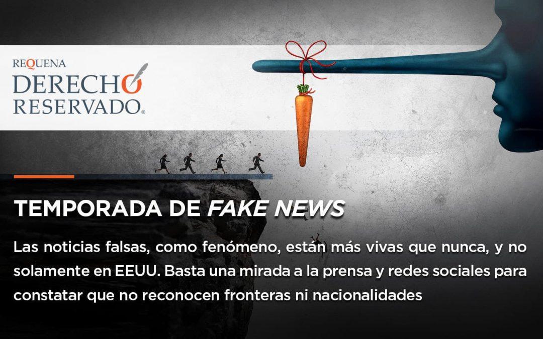 Temporada de Fake News | Derecho Reservado | Abogado Carlos Requena