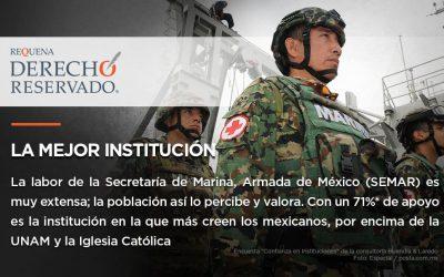 La mejor institución