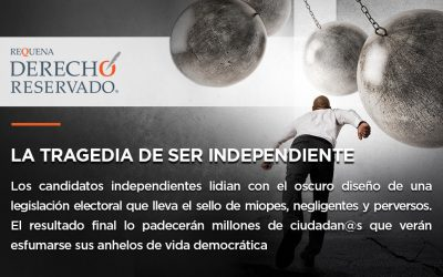 La tragedia de ser independiente
