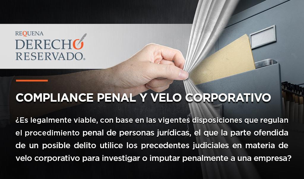 Compliance Penal y Velo Corporativo