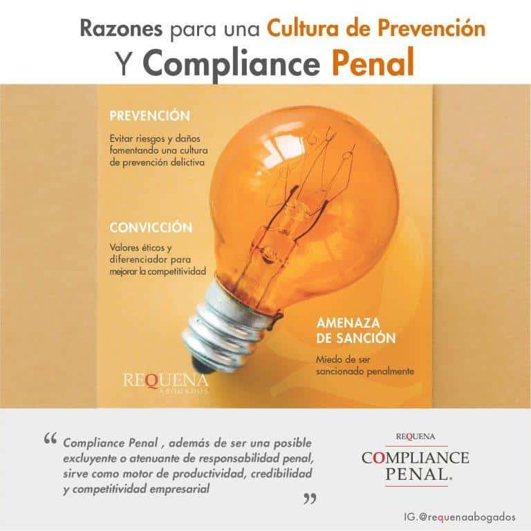 Cultura de Prevención y Compliance Penal | Carlos Requena