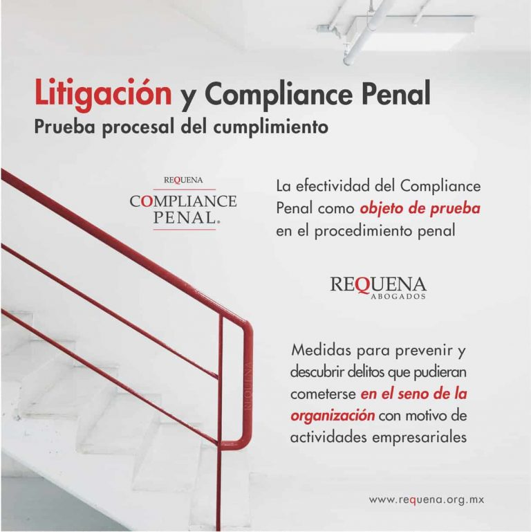 Litigación | Compliance Penal | Abogado Carlos Requena