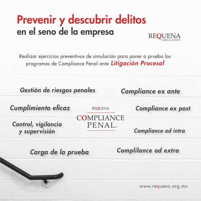 Prevención de Delitos | Compliance Penal | Abogado Carlos Requena