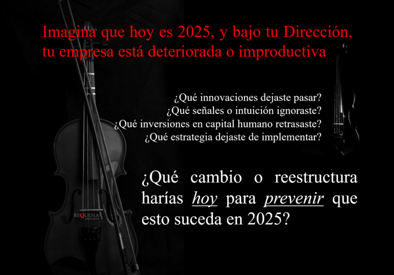 Imagina que hoy es 2025 | Requena Abogados
