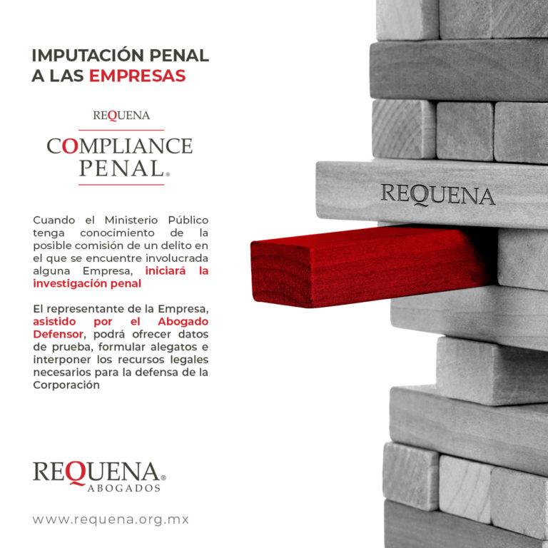 Imputación Penal a las Empresas | Compliance Penal | Requena Abogados