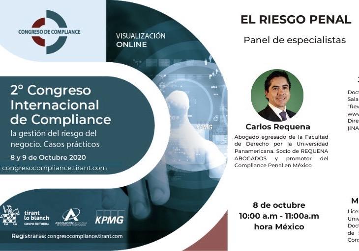 2º Congreso Internacional de Compliance 2020 - Abogado Carlos Requena