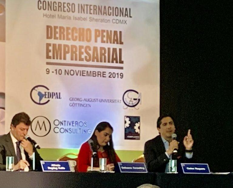 Congreso Internacional Derecho Penal Empresaria 2019 - Abogado Carlos Requena